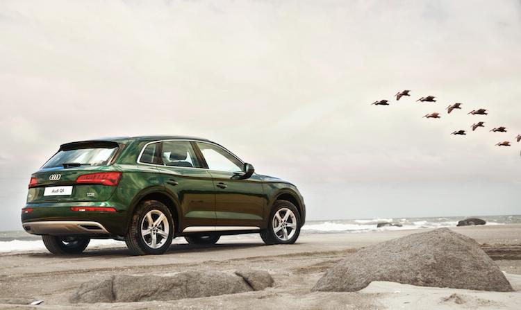 Audi Q5 trang bị hệ dẫn động quattro tối ưu trên nhiều dạng địa hình.
