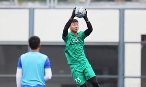 U22 Việt Nam tập luyện trước trận gặp Singapore
