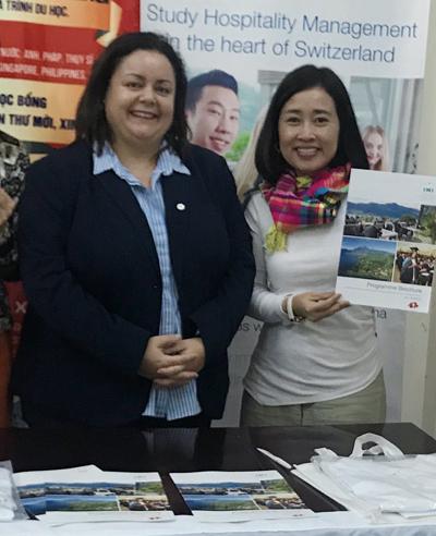 Cầu Xanh, văn phòng tuyển sinh chính thức uy tín đầu tiên của trường IMI tại Việt Nam.
