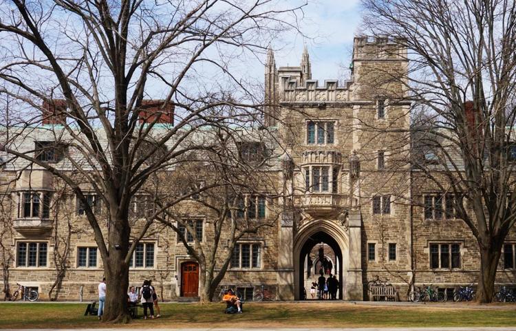 Đại học Princeton (Mỹ). Ảnh:Shutterstock.