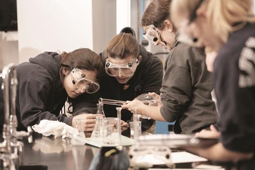 Nhà trường luôn tiên phong trong những hoạt động phát triển kỹ năng sống cho học sinh thông qua chương trình thực tập ở các công ty và bệnh viện.