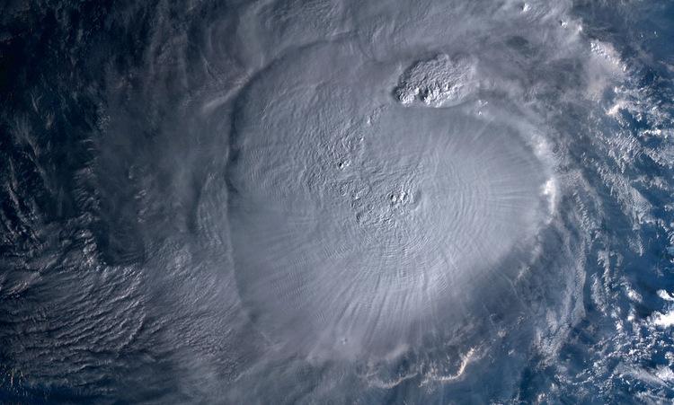 Bão Kammuri nhìn từ vệ tinh hôm 1/12. Ảnh: NOAA.