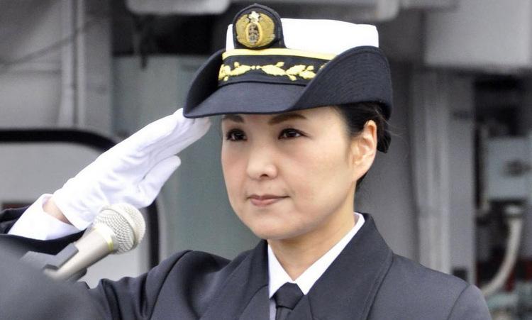 Đại tá Otani trong lễ nhậm chức hôm 2/12. Ảnh: Kyodo.