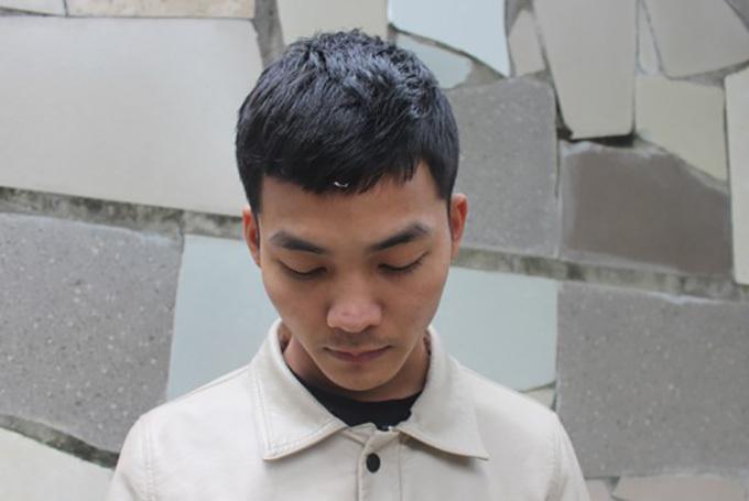 Phạm Văn Sơn tại cơ quan điều tra.