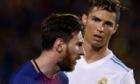 Barca vào tứ kết, fan Messi đá đểu C.Ronaldo