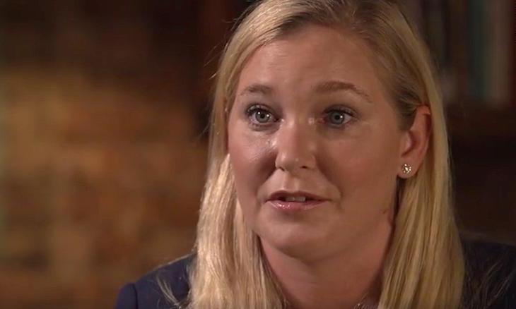 Virginia Giuffre, người tố cáo bị ép quan hệ tình dục với Hoàng tử Andrew. Ảnh: BBC Panaroma