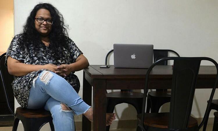 Vandita Morarka, giám đốc tổ chức phi lợi nhuận One Future Collective. Ảnh: AFP.