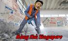 Ảnh chế Đức Chinh tỏa sáng trong trận thắng U22 Singapore