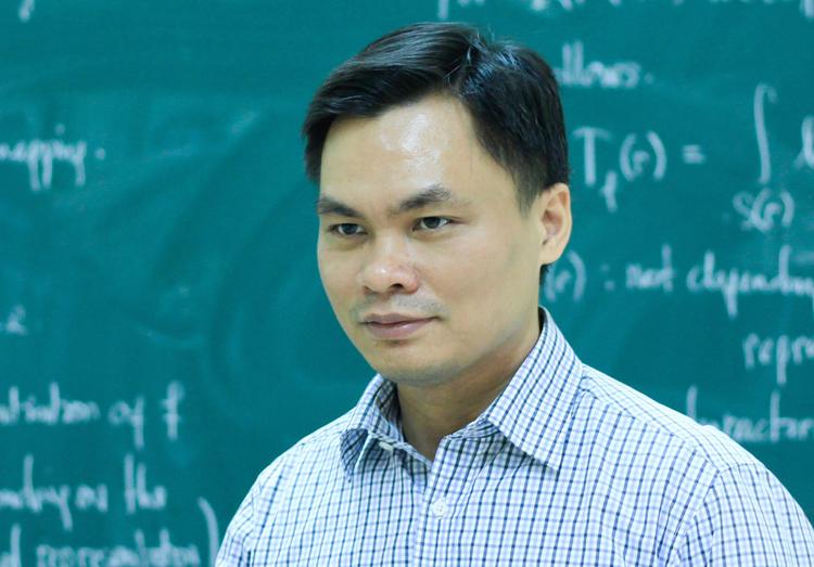 Giáo sư trẻ nhất Việt Nam năm 2019 Sĩ Đức Quang. Ảnh: Dương Tâm
