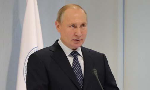 Tổng thống Nga Vladimir Putin phát biểu tại một trường đại học ở thành phố Sochi hôm 3/12. Ảnh: Sputnik.