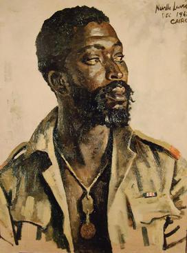 Tranh vẽ Maseko cuối năm 1941. Ảnh: Alfred Lewis.