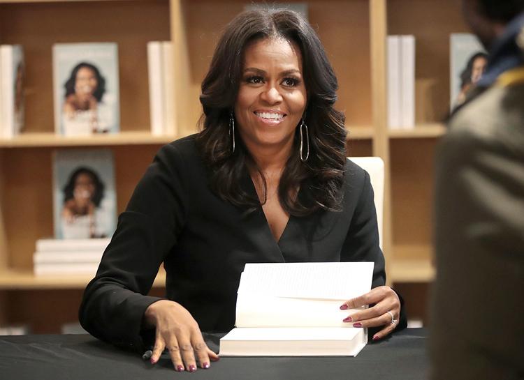 Cựu Đệ nhất phu nhân Mỹ Michelle Obama. Ảnh: Scott Olson/Getty.