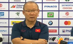 Ông Park lý giải U22 Việt Nam hay gặp khó ở hiệp 1