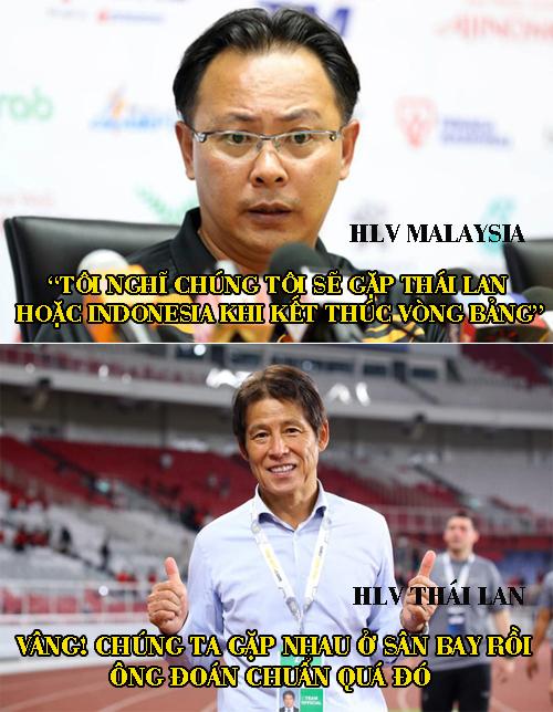 Đúng là HLV Malaysia đoán quá chuẩn.