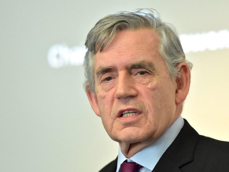 Cựu thủ tướng Anh Gordon Brown. Ảnh: PA.