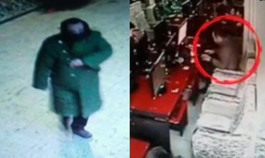 Nghi phạm xuất hiện trên camera tại ATM và quán net. Ảnh: CCTV.