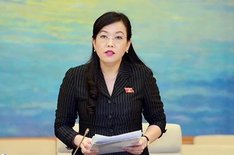 Bà Nguyễn Thanh Hải, trưởng ban Dân nguyện Quốc hội. Ảnh: Hoàng Hải