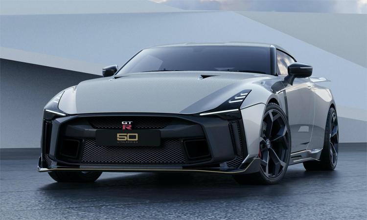 GT-R50 ra mắt với ngoại hình nhiều điểm khác so với GT-R. Ảnh: Nissan