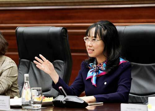 Tiến sĩ Lê Mai Lan, Chủ tịch dự án Đại học VinUni.
