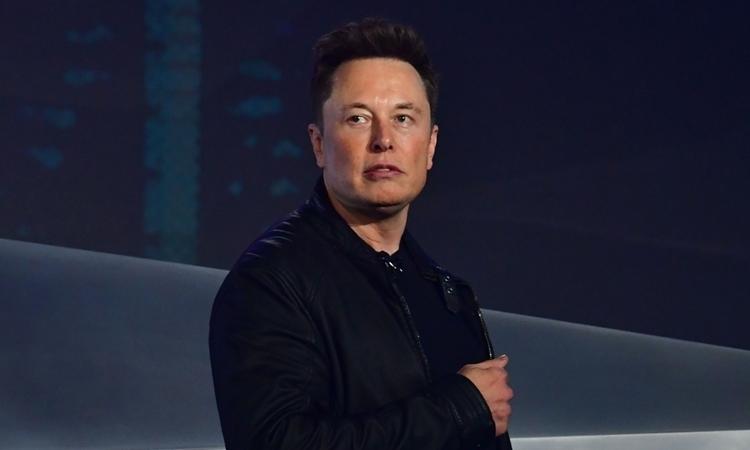 Elon Musk tại California hồi tháng 11. Ảnh: AFP.