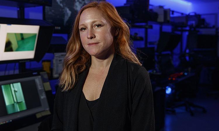 Erin Burke, giám đốc Đơn vị Điều tra Khai thác lạm dụng trẻ em thuộc HSI. Ảnh: AP.