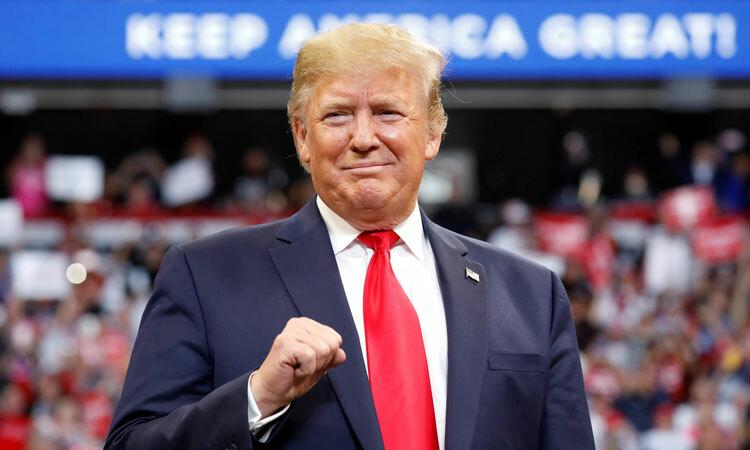Trump tung vũ khí kinh tế đối phó bão luận tội - VnExpress