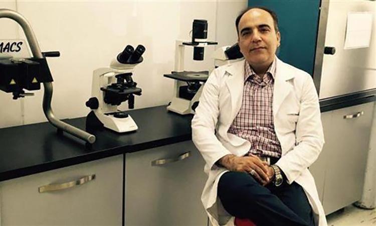 Nhà khoa học Iran Soleimani. Ảnh: Press TV.
