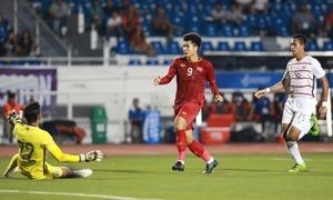 Đức Chinh chia sẻ sau hat-trick vào lưới Campuchia