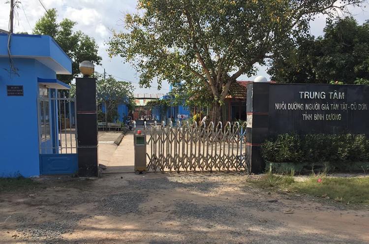 Trung tâm Bảo trợ xã hội tỉnh Bình Dương. Ảnh: Hoàng Trường
