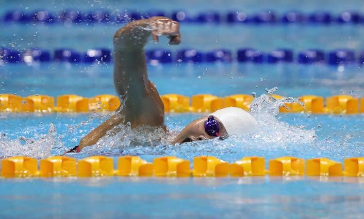 Ánh Viên hướng đến HC vàng thứ sáu của cô tại SEA Games lần này. Ảnh: Quang Huy.