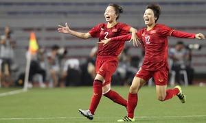 Hải Yến chia sẻ sau bàn thắng giúp Việt Nam giành HCV
