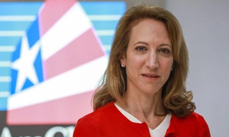 Chủ tịch Phòng Thương mại Mỹ ở Hong Kong Tara Joseph. Ảnh: SCMP.