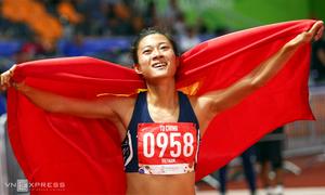 Ngày bội thu HC vàng của điền kinh Việt Nam ở SEA Games 30