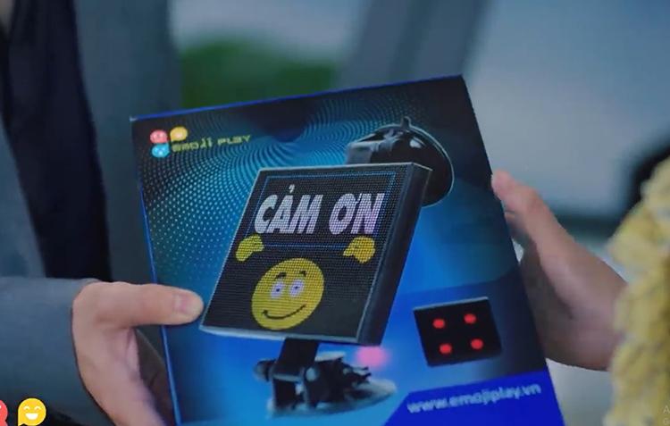 Bộ sản phẩm Led Emoji Play.