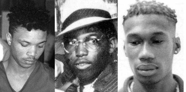 Corey Maeweather (trái), Kwame Henry (giữa) và Stanley Obas bị nghi ngờ giết hại nạn nhân. Ảnh: Tony Rhodin/Lehigh Valley Live.