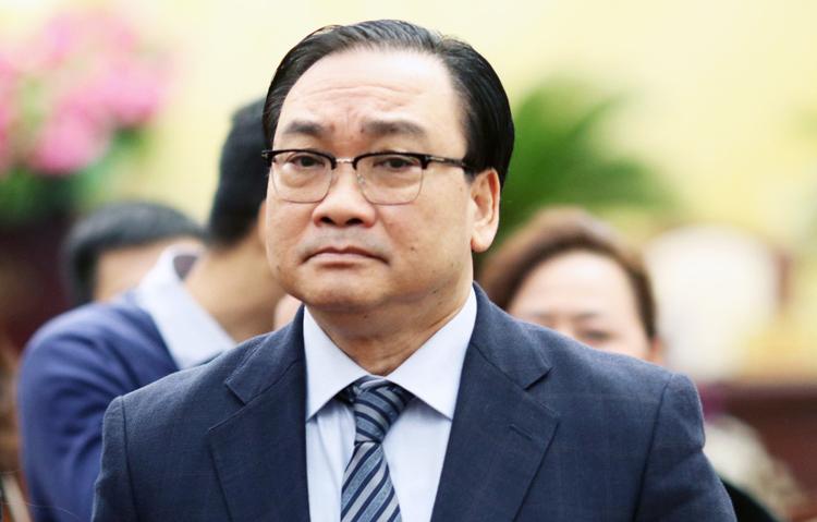 Ông Hoàng Trung Hải, Bí thư Thành ủy Hà Nội. Ảnh: Võ Hải