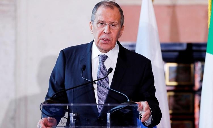 Ngoại trưởng Nga Sergei Lavrov tại Rome, Italy, hôm 6/12. Ảnh: Reuters.