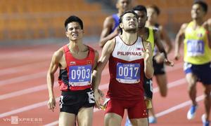 VĐV Việt Nam bị chơi xấu khi đoạt HC vàng chạy 800 mét
