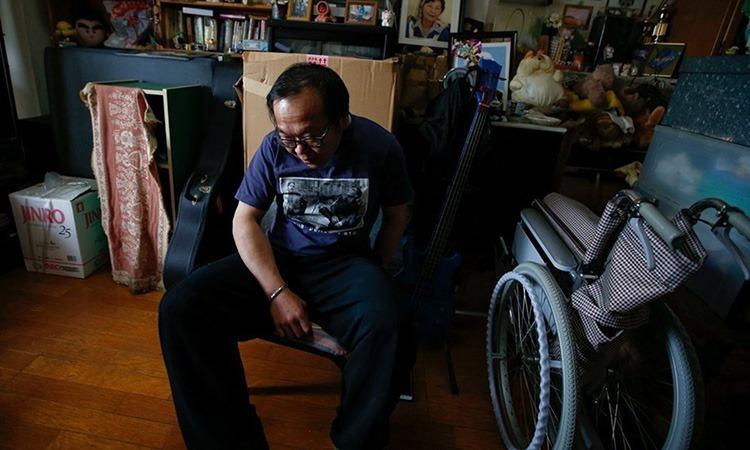 Một hikikomori tuổi trung niên ở Nhật Bản. Ảnh: Reuters.