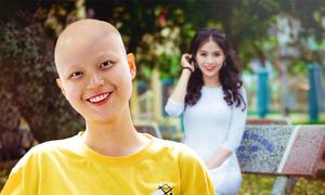 Nghị lực của cô gái 19 tuổi mắc ung thư