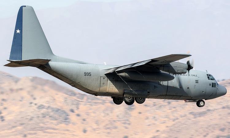 Vận tải cơ C-130 trong biên chế không quân Chile. Ảnh: Global Aviation Resource.