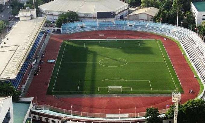 Nơi diễn ra trận chung kết SEA Games, Rizal Memorial. Ảnh: Rappler