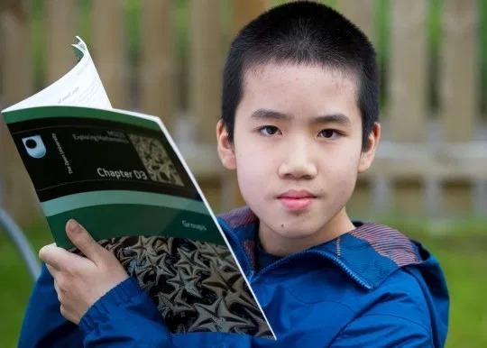 Wang Pok Lo lúc 11 tuổi. Ảnh: SWNS