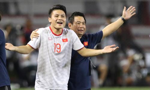 Quang Hải không kịp vào thay người cuối trận đấu Indonesia