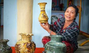 Lò gốm đổi sắc cuối cùng ở làng nghề 250 năm