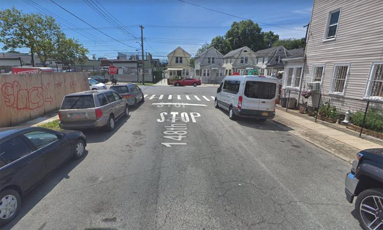 Đoạn phố 148 nơi gần giao với đại lộ Foch xảy ra tai nạn chết người. Ảnh: Google Maps