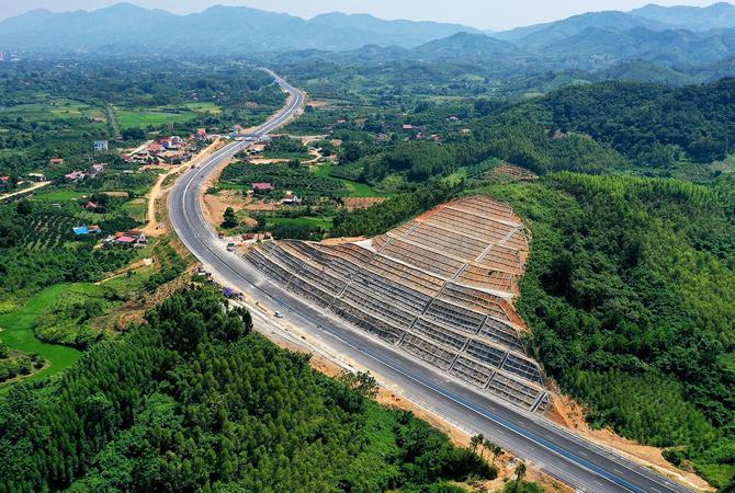 Cao tốc Bắc Giang - Lạng Sơn. Ảnh: Giang Huy.