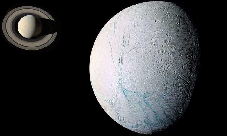 """Quá trình hình thành """"vằn hổ"""" trên mặt trăng sao Thổ"""