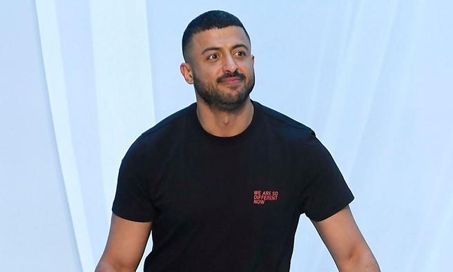 Khalid Qasimi tại Tuần lễ Thời trang London hồitháng 6. Ảnh: WWD