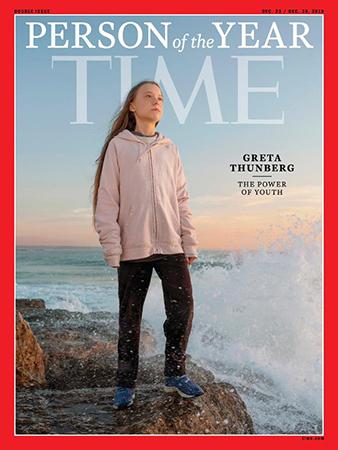 Greta Thunberg được tạp chí Time chọn là Nhân vật của năm